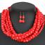 Women-Bohemian-Choker-Chunk-Crystal-Statement-Necklace-Wedding-Jewelry-Set thumbnail 133