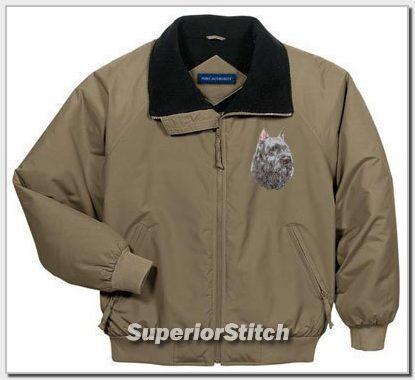 BOUVIER DES FLANDRES embroidered jacket ANY COLOR