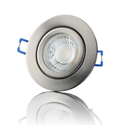lambado® LED Einbaustrahler Badezimmer Außen Feuchtraum Spot Deckenstrahler 5W