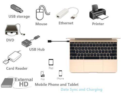 Samsung Galaxy A5 2017 Cable OTG Type C OTG USB C