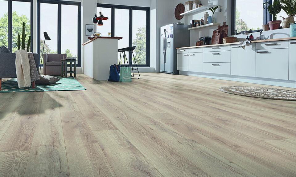 Elegant laminat planke gulv, til Super pris!