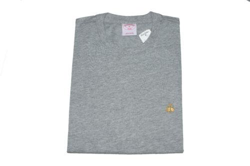 Men/'s BROOKS BROTHERS Solid T Shirt 1818 Crew Neck Tee 100/% Cotton S M L XL XXL