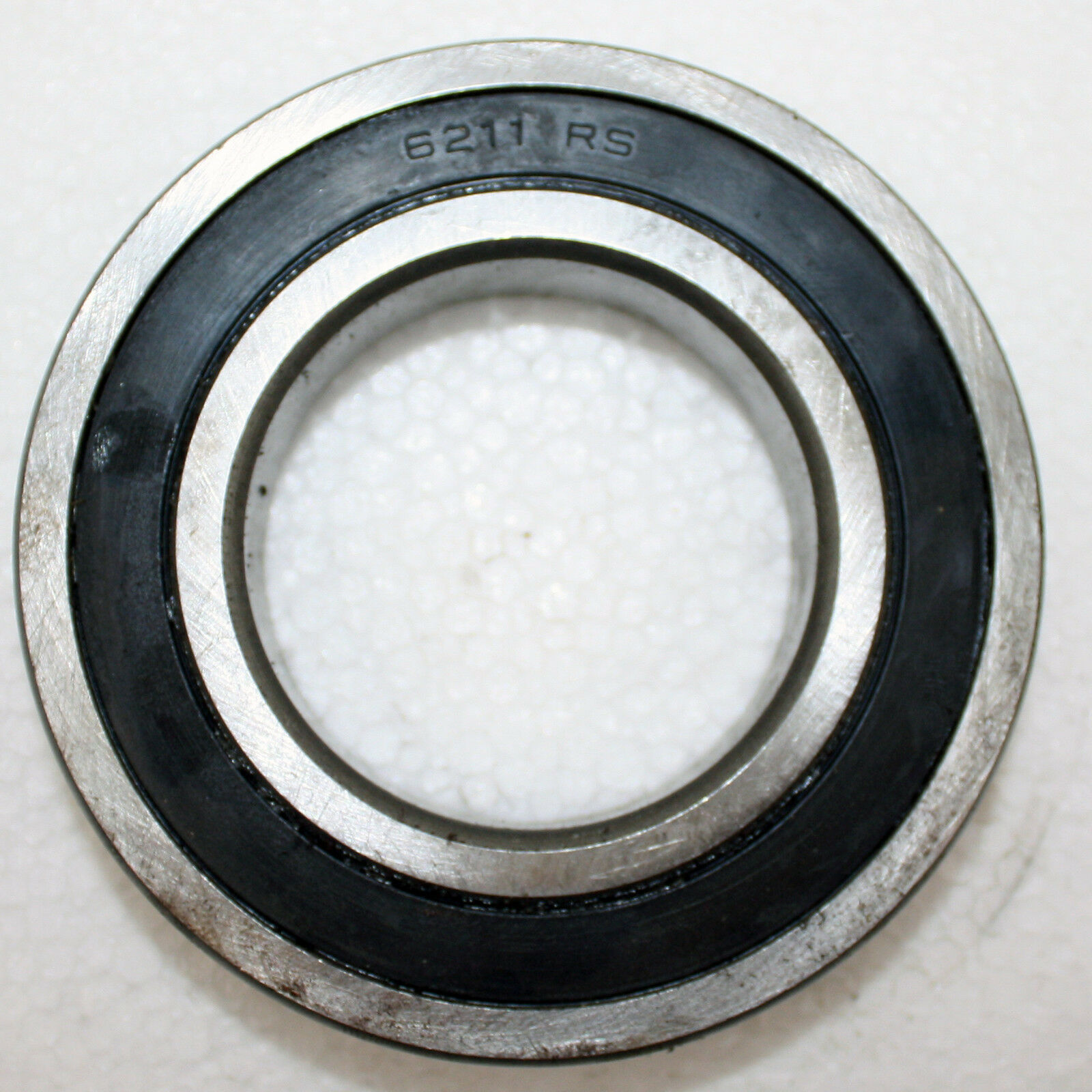 10 PCS 6201-2RS Rubber Sealed Ball Bearing Set BLACK 6201RS 12x32x10 mm
