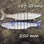 Salt-water-Realscale-trolling-lures-sea-fishing-tuna-bass-herring-mackerel-bait thumbnail 15