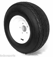 2 (two) 20.5x8-10 Tire Wheel 5 Lug 10 P.r. Load E 20.5x8.0-10 20.5x8.00-10