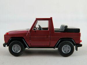 Herpa-mercedes-benz-300-ge-cabrio-1990-en-violeta-metalizado-1-87-h0-nuevo-unbesp