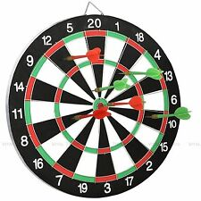 Freccette Dart Board con 6 Freccette Ideale Party Game Play Set BIADESIVO