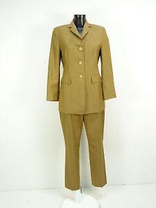 36 Pantsuit R Brown 38 Gr N con Windsor pantaloni Blazer 1402 Elegant Eq4dSn