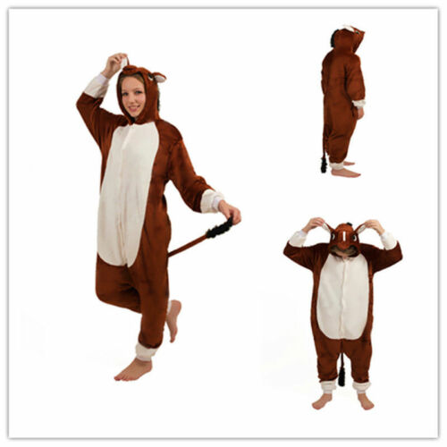 Zoo Farm Horse Cow Onesiee Kigurumi Fancy Dress Costume Hoodies Pajamas Bodysuit
