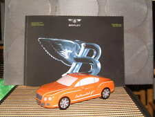 BENTLEY COLLECTION CERAMIC CONTINENTAL GT MODEL BANK IN ORANGE GREAT GIFT! NIGB!