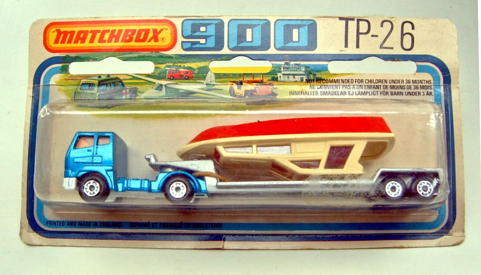 Matchbox Superfast tp26 boat Transporter top top top en OVP ce81d6