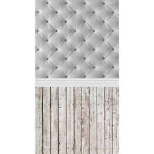 3x5ft Vinyl Wall Floor Wood Photography Backdrop Photo Props Studio Background