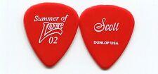 HEART 2002 Summer Love Tour Guitar Pick!!! SCOTT OLSON custom concert stage #6