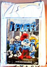 I PUFFI dvd + T Shirt size 7/9 The Smurfs (les Schtroumpfs)