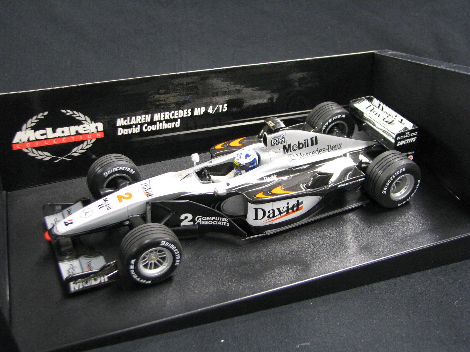 Minichamps McLaren Mercedes MP4 15 2000 1 18  2 David Coulthard (GBR (JS)