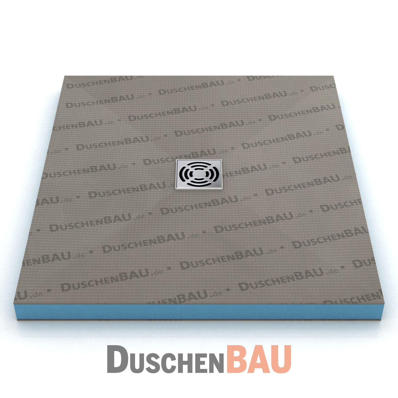 Duschelement Profi 100x140 cm befliesbar bodeneben Duschboard Duschtasse