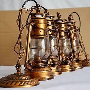 Nice Image Is Loading Vintage Edison Barn Lantern Iron Kerosene Lamp Oil