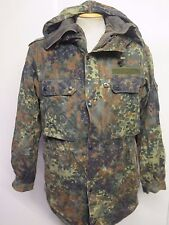 "GERMAN ARMY CLASSIC FLECKTARN PARKA Military Combat Jacket Coat M 38-40"" + Liner"