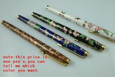 age90s vintage FP chinese famous Hero cloisonne fountain pen full copper barrel