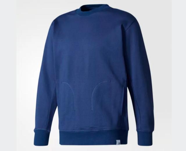Mens adidas Originals Xbyo Crew Sweatshirt In Mineral Blue