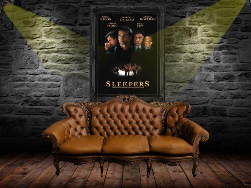 Sleepers 1996  Movie Poster Print A0-A1-A2-A3-A4-A5-A6-MAXI 849