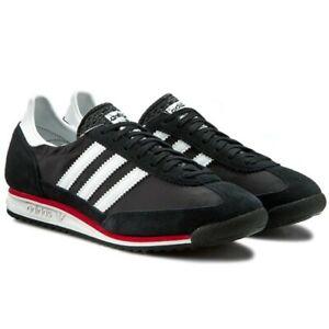 Détails sur Adidas Originals SL72 Baskets Noir UK Hommes Tailles