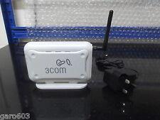 HP 3Com Oficina Conexión Inalámbrico 54 Mbps 11g Punto De Acceso 3CRWE454G75
