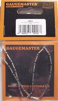 Gaugemaster N Fishplates x 24 (Track Joiners) 'N' Gauge Code 80 &55 Track 1st