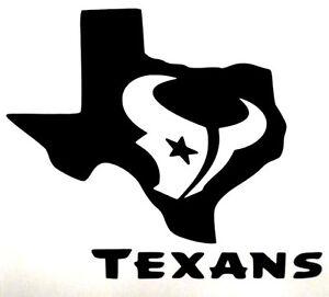 New Truck Colors >> Houston Texans Bull Texas Logo Football Car Truck Vinyl Decal Sticker 12 Colors!   eBay