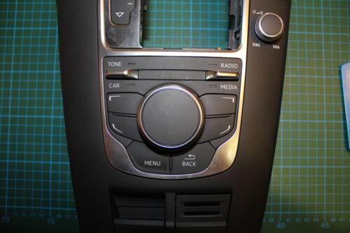 MMI Autocollant Audi a3 s3 rs3 8 V en carbone optique Incl Boutons Décor TONE//Car