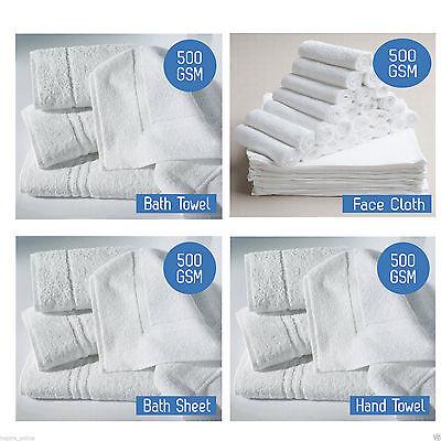 Details about  /Luxury 100/% Egyptian Cotton Soft 500 GSM Bale Set Face Hand Bath Towel Sheet