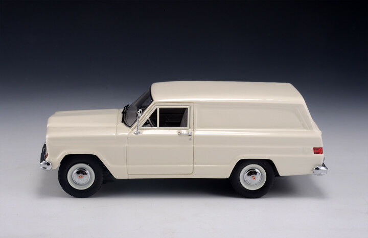 1 43 GLM Model Kaiser Jeep Panel Delivery Van White 1962 GLM110101
