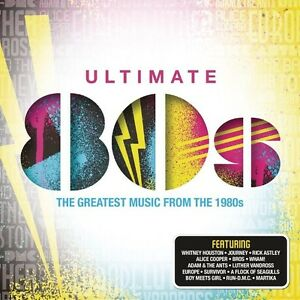 Various-Artists-Ultimate-80S-New-CD-UK-Import