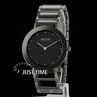 Bering Damen-armbanduhr Keramik/stahl/saphir 11435-748
