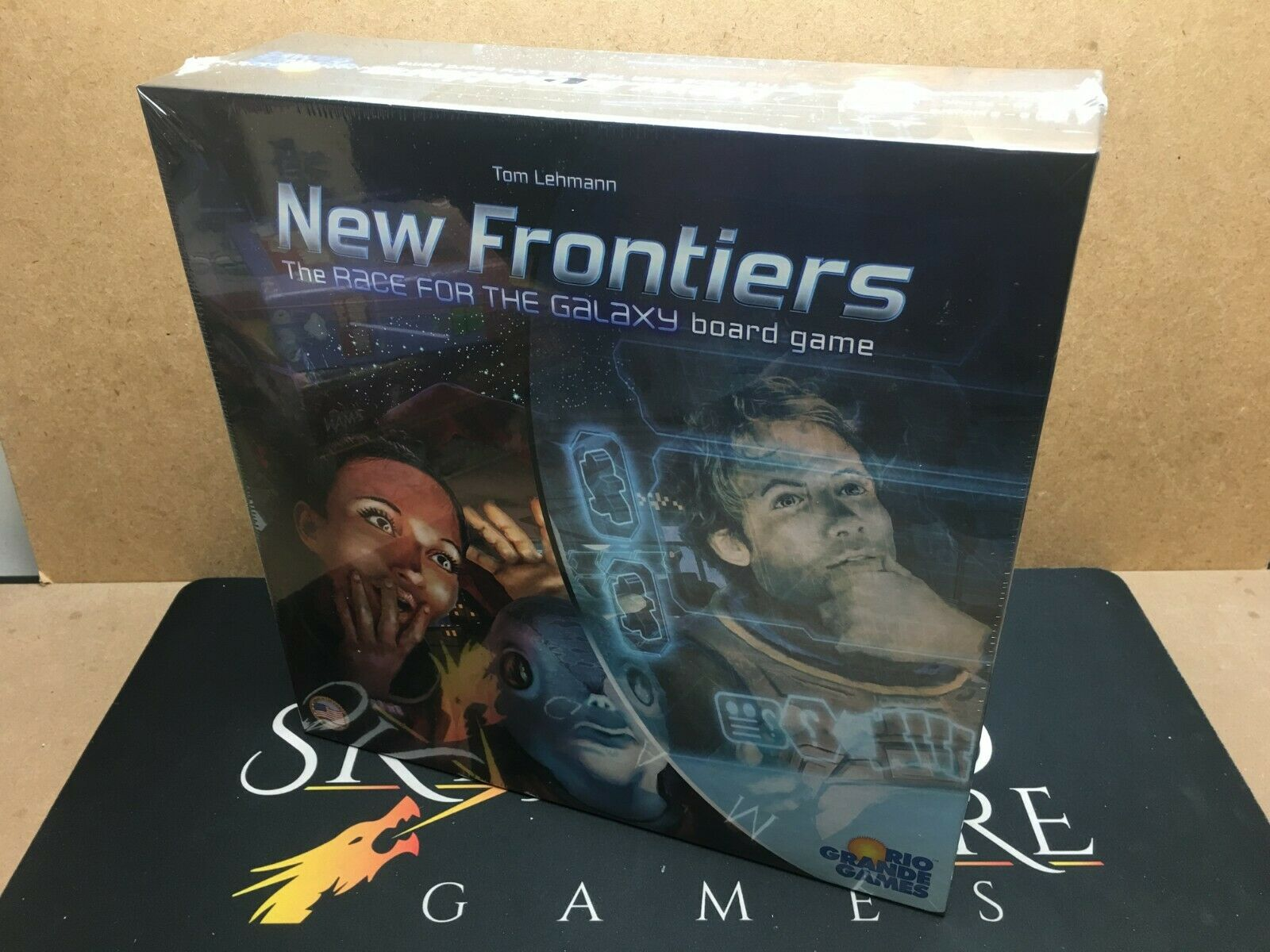 New Frontiers  The Board Game - Rio Grande Games (Genuine Sealed)