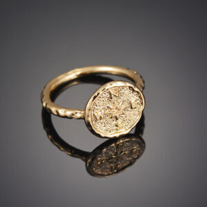 Boho-Gold-Color-Compass-Ring-Vintage-Friends-Rings-for-Women-Friendship-Jewelry