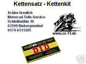 DID X-ring Chain Set Yamaha YZF 750 Sp , YZF750, 4HT, 16-39-104, Chain Kit 532er