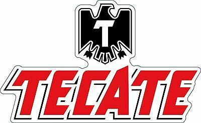 Tecate Sticker Decal Different Sizes Beer Bumper Bar