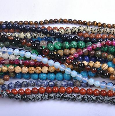15/'/' Natural Mookaite Gemstone Spacer Loose Beads Jewelry Finding 4//6//8//10MM