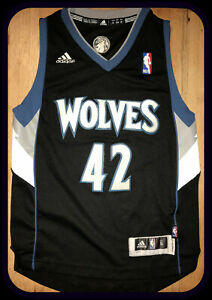 official photos b0077 27a47 Details about MINNESOTA TIMBERWOLVES ADIDAS KEVIN LOVE STITCHED REPLICA  JERSEY YOUTH SMALL