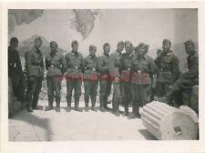 Foto, deutsche Soldaten auf der Akropolis in Griechenland (N)1793