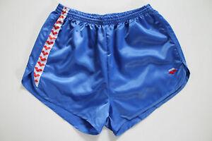 ARENA-80er-Vintage-Shorts-XL-NEU-Sporthose-Sports-Nylon-Glanz-shiny-VTG-retro
