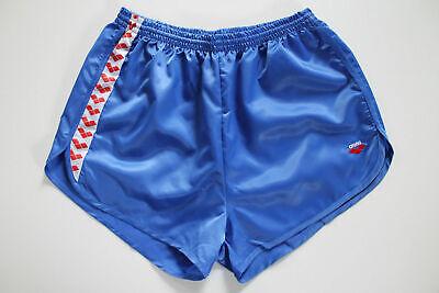 ARENA 80er Vintage Shorts XXL NEU Sporthose Sports Nylon Glanz shiny retro VTG