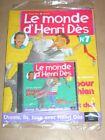 RARE CD + MAGAZINE / LE MONDE D'HENRI DES N° 7 / CHANSON POUR MON CHIEN / NEUF
