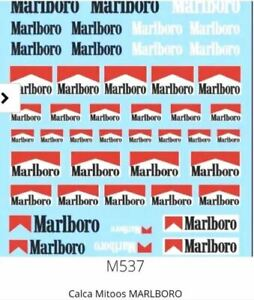 Mitoos M537 Marboro Decal Water Slides 1:32 Scale