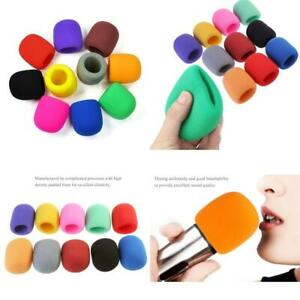NYKKOLA 10 Pack Colors Handheld Stage Microphone Windscreen Foam Mic Cover...