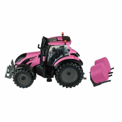 Britains Valtra Rosa T254 Trattore Playset 1:32 B43247