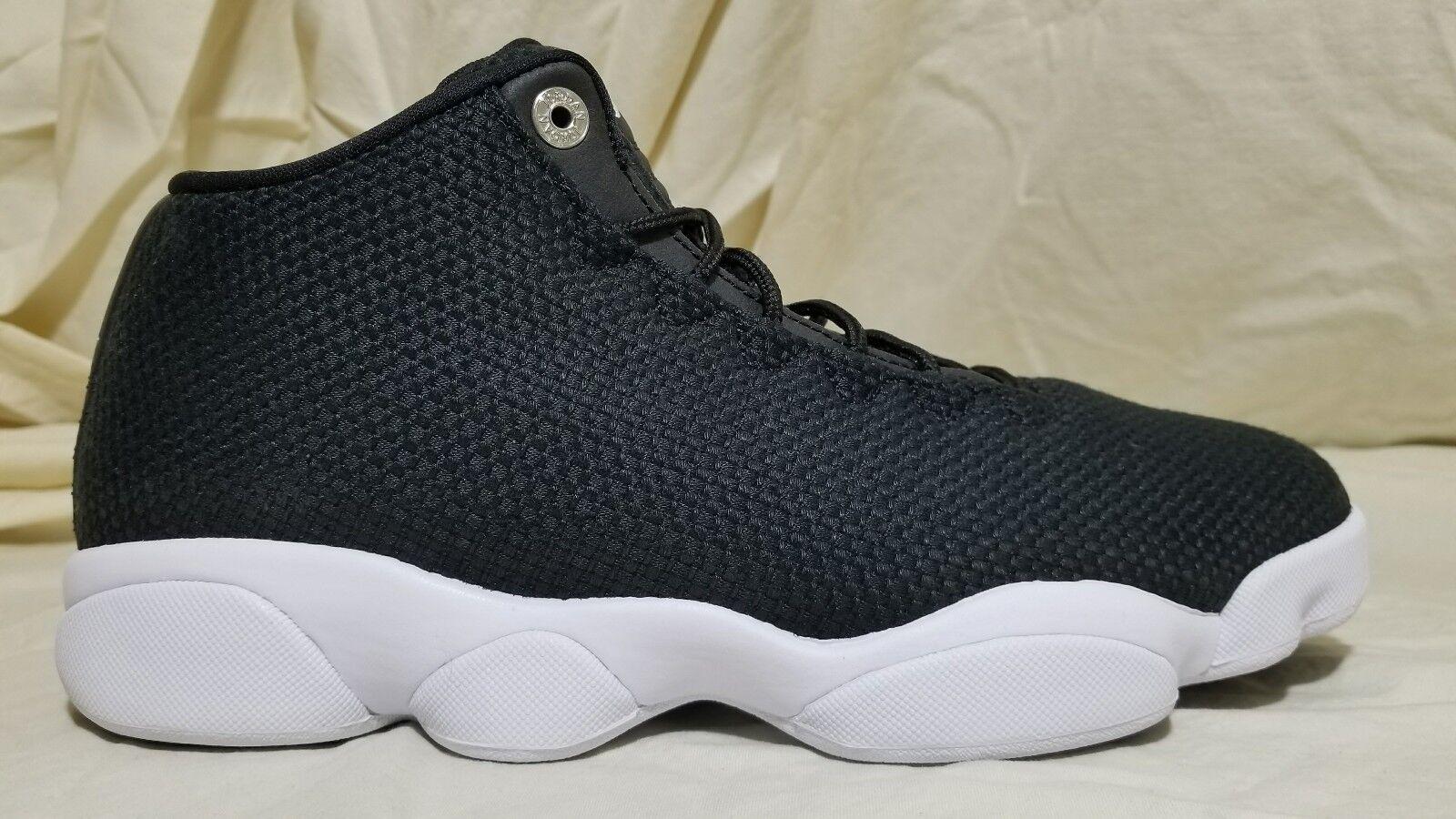 Jordan Horizon Low Size Basketball Shoes 845098-006 Men Size Low 9 Black White ecb325