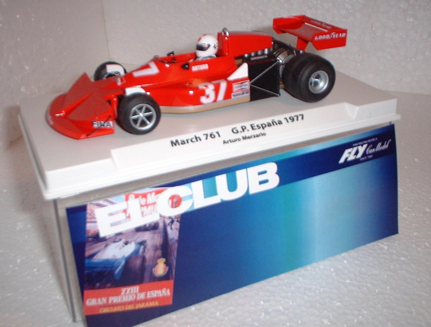 Qq 99136 FLY MARCH 761 - F1 LIVINGWELL ED SPECIAL GP SPAIN 1977 TO MERZARIO