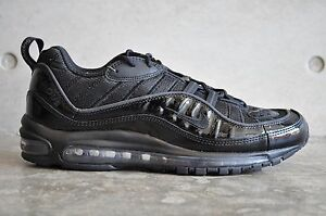 nike air max 98 x supreme triple black nz